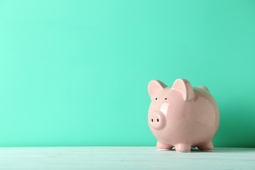 Piggy bank small business funding