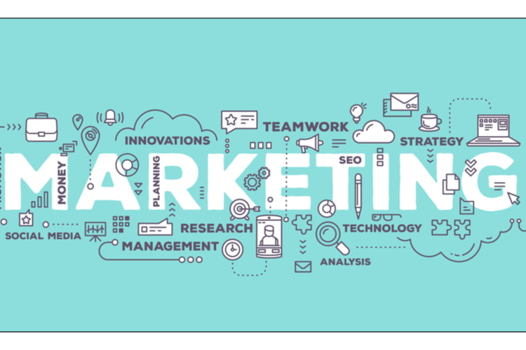 Business marketing examples image.