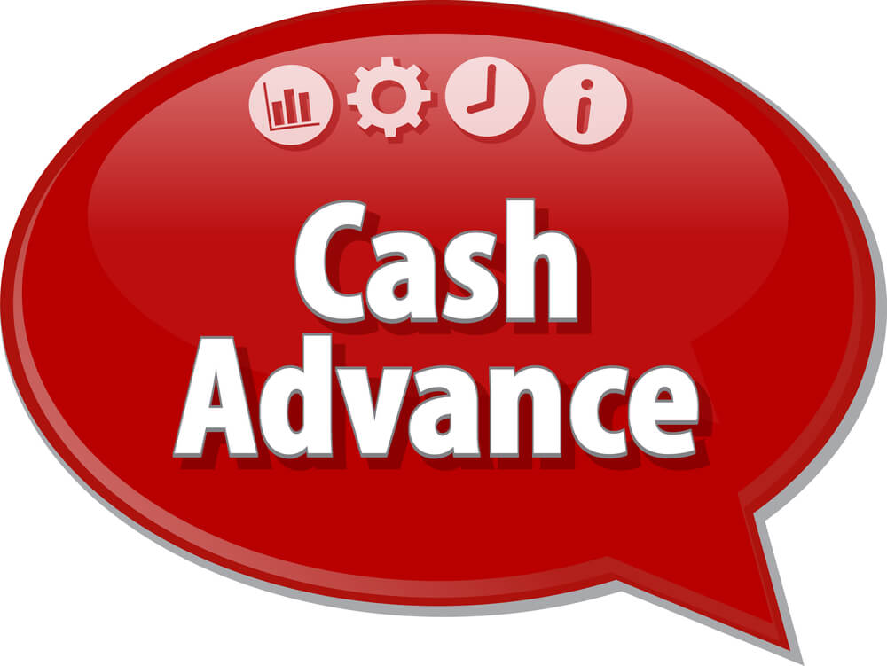 Cash advance NWF business
