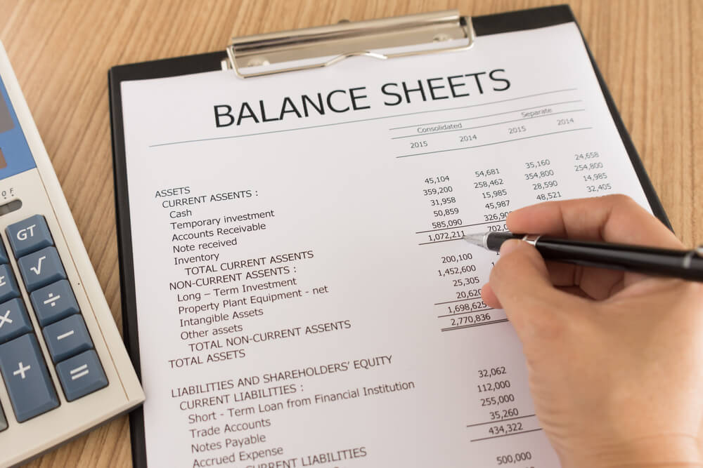 Expense report for a small business