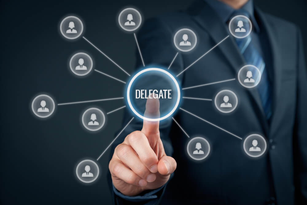 effective delegate business practice