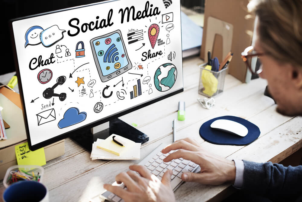 Social media in a small business